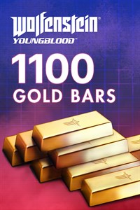 Carátula del juego Wolfenstein: Youngblood - 1100 Gold Bars