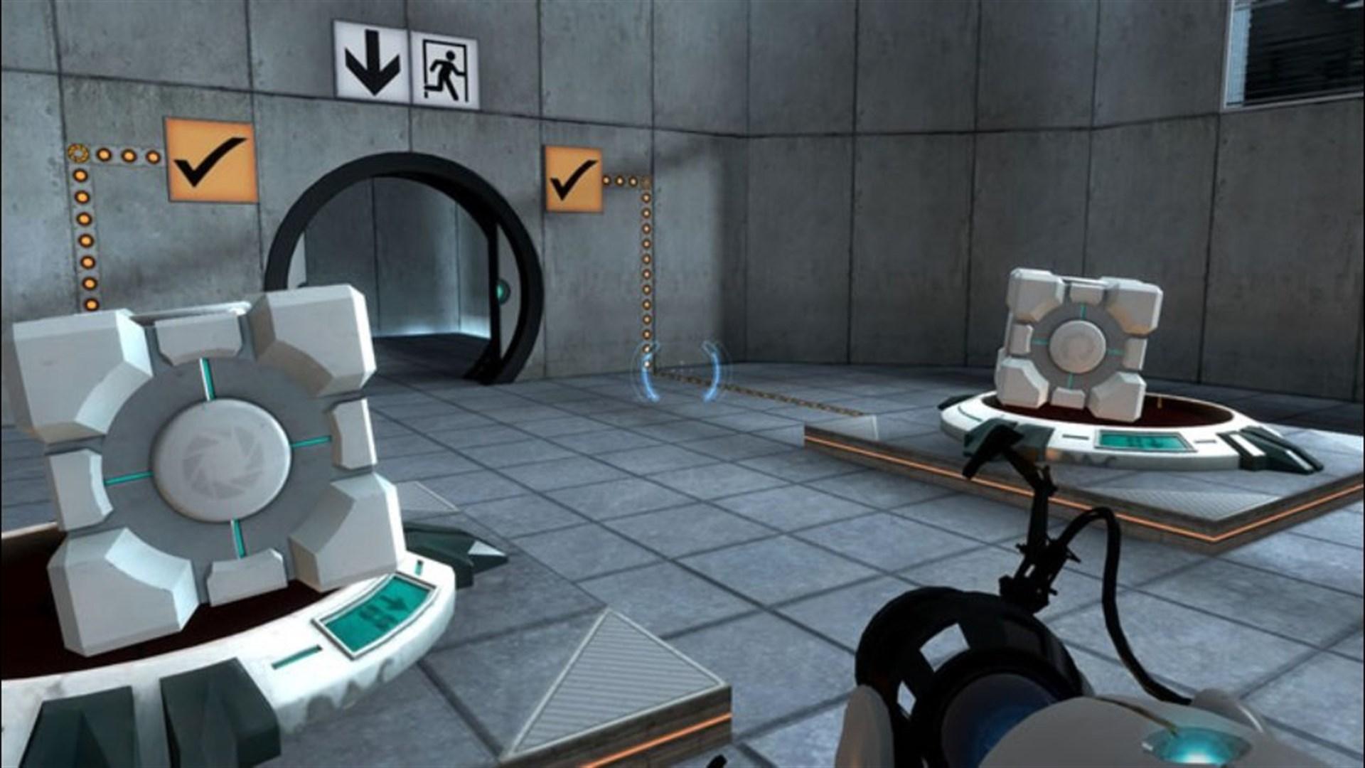 Скриншот №1 к Portal Still Alive