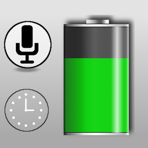 Battery Monitor w/ Voice Control