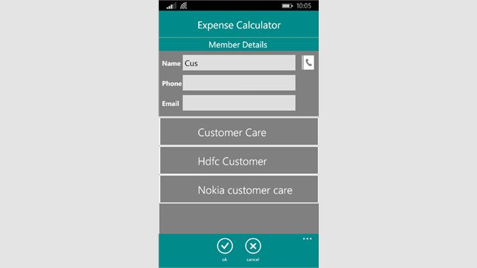 Get Expense Calculator - Microsoft Store