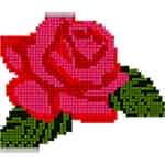 Flowers Color by Number - Pixel Art , Sandbox Coloring
