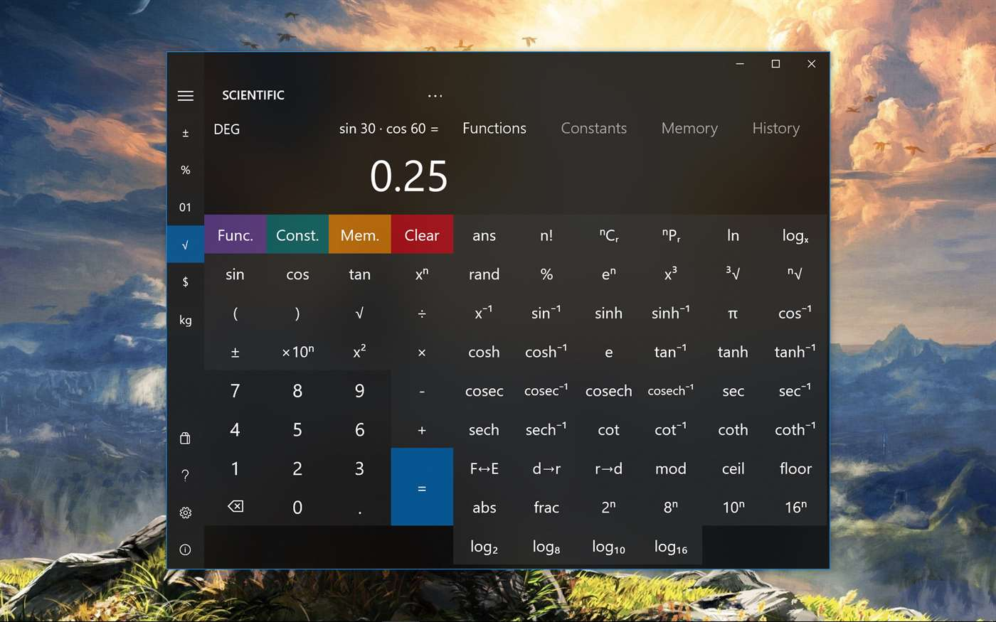 Calculator² full screenshot
