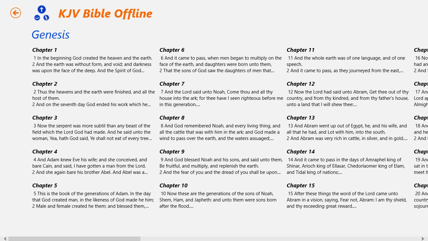 KJV Bible (Offline)