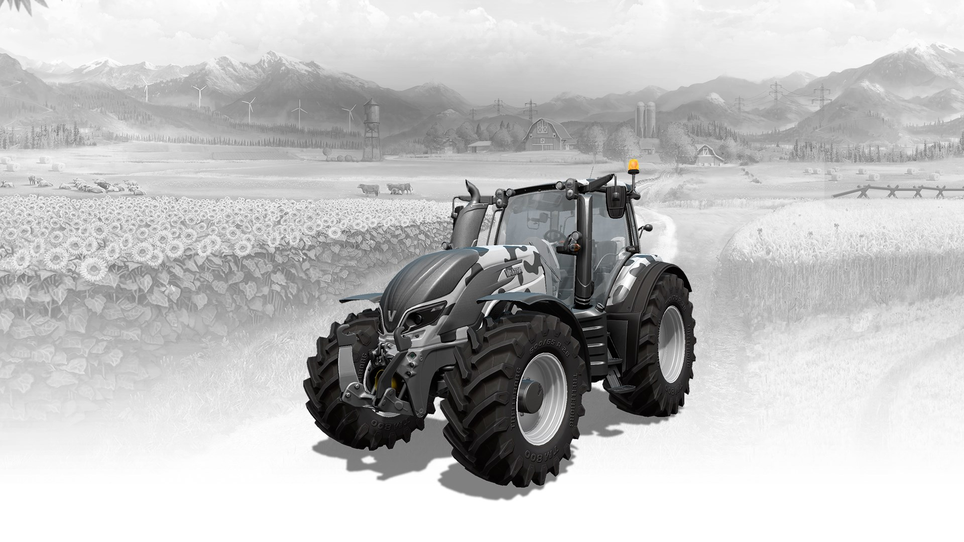 Valtra T-Series COW