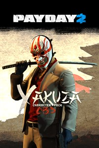 PAYDAY 2: EDYCJA CRIMEWAVE — Pakiet The Yakuza Character Pack