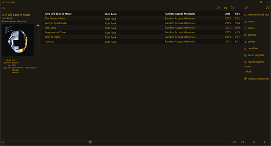 Loco music player screenshot 1