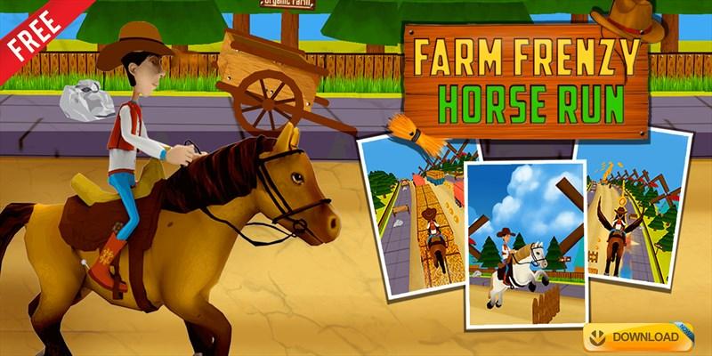 Get Farm Frenzy Horse Run - Endless Arcade Runner Game