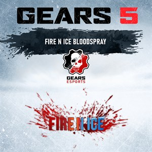 Fire N Ice Coloured Blood Spray Xbox One