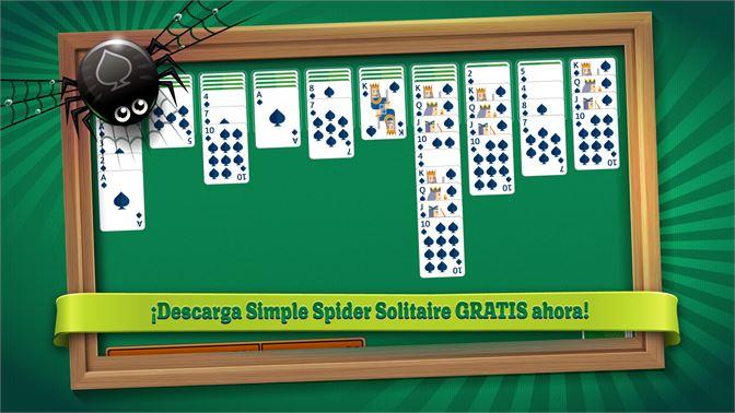 descargar solitario spider clasico gratis