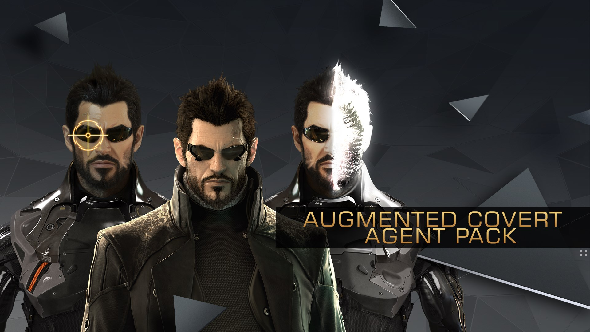 Deus Ex: Mankind Divided - Augmented Covert Agent Pack