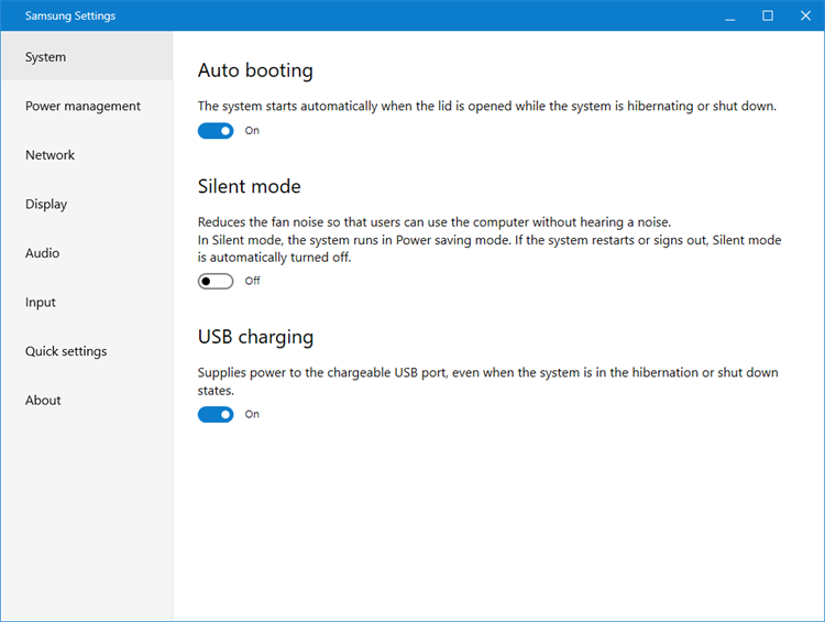 Samsung Settings – (Windows Apps) — AppAgg