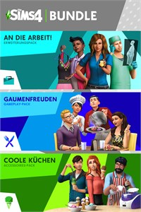 Die Sims™ 4-Bundle - An die Arbeit!, Gaumenfreuden, Coole Küchen-Accessoires