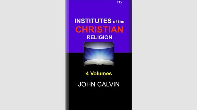Institutes Of The Christian Religionni Sotib Oling Microsoft