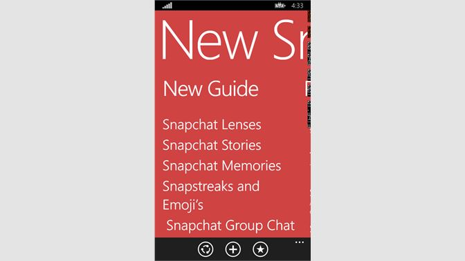 Get Snapchat Guide - New - Microsoft Store