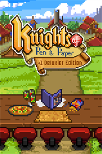 Carátula para el juego Knights of Pen and Paper +1 Deluxier Edition de Xbox One