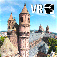 VR Imperial Cathedral of Worms Tour - Germany - Mixed Reality