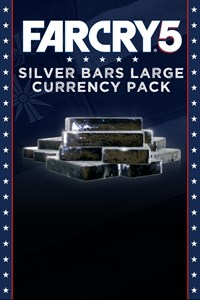 Carátula del juego Far Cry 5 Silver Bars - Large pack