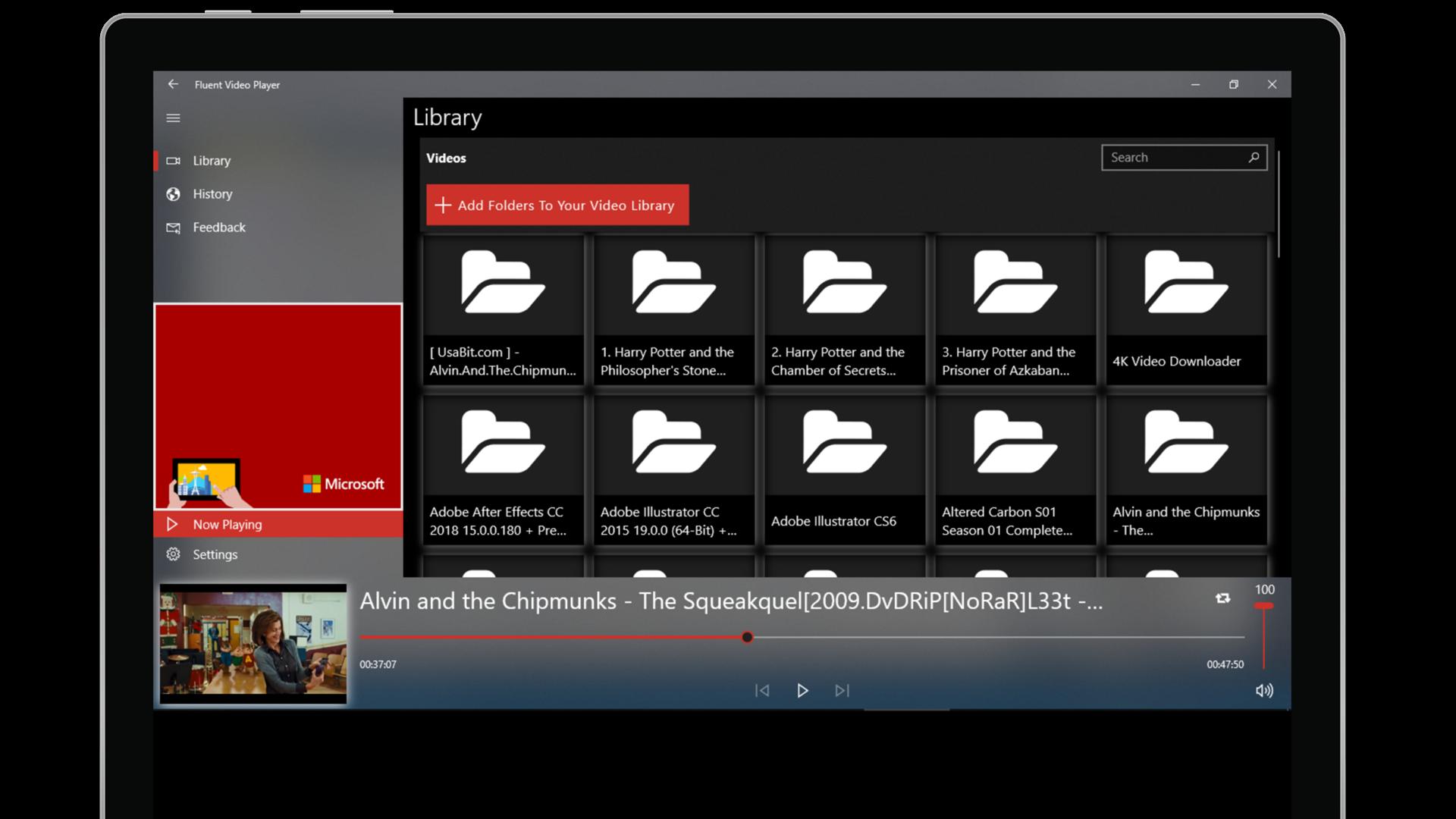Get Fluent Video Player Microsoft Store