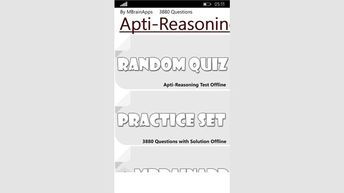 Get Aptitude & Logical Reasoning Plus - Microsoft Store en-IN