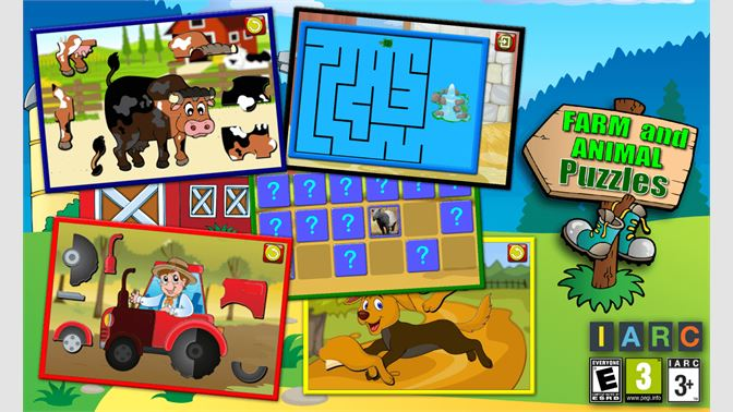 Get Kids Farm And Animal Jigsaw Puzzle Shapes Educational Young