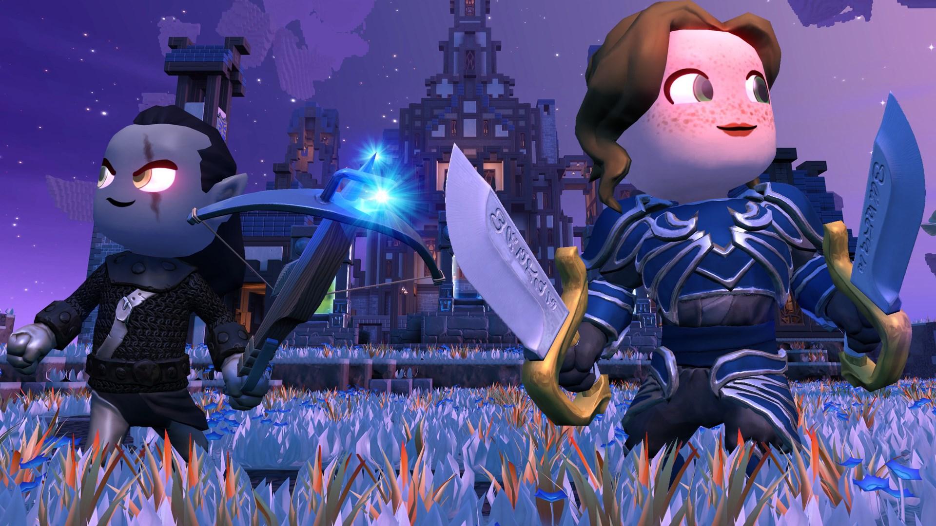 Portal Knights: эльфы, разбойники и рифты