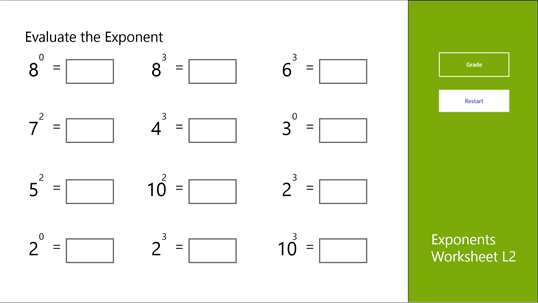 how to add exponents with different bases