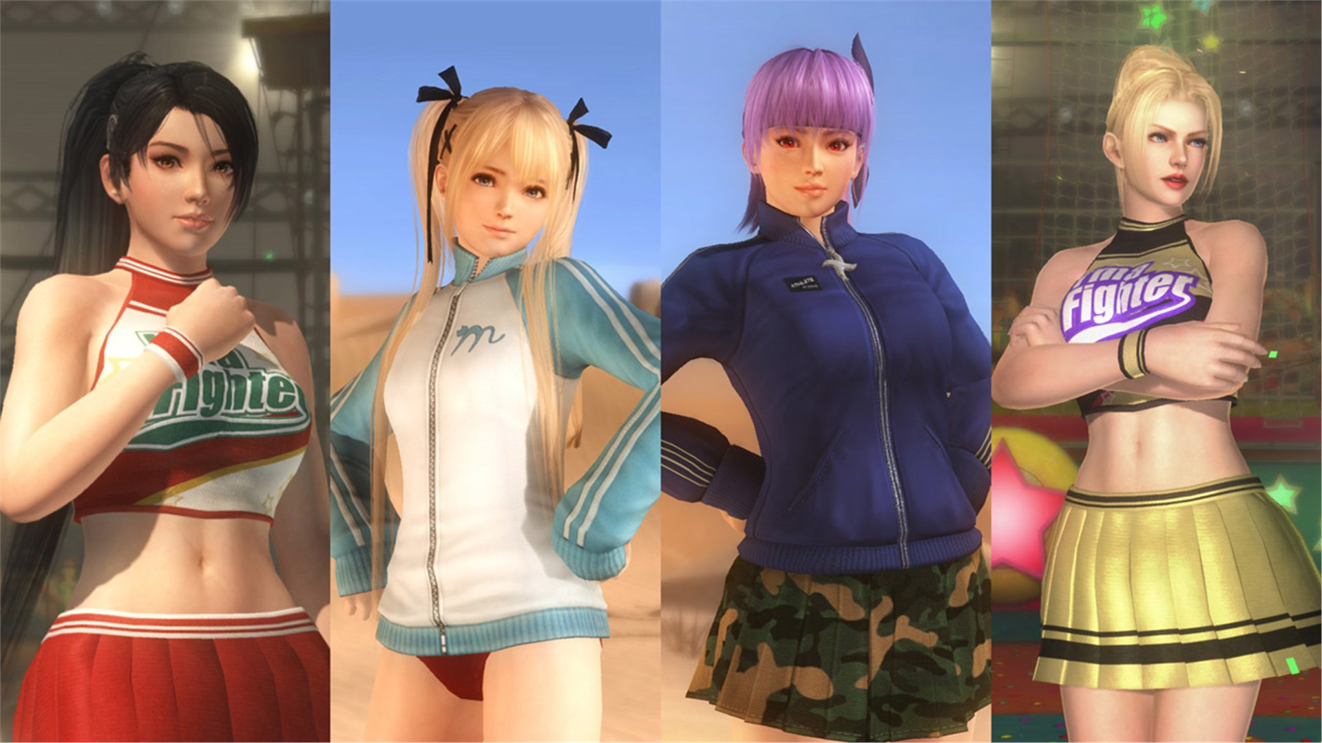 DEAD OR ALIVE 5 Last Round Training Gear Set