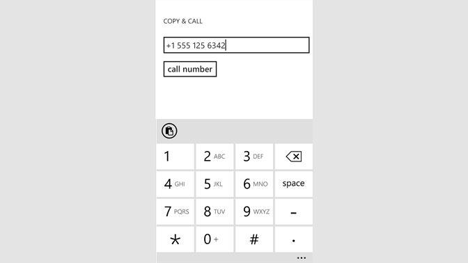 Get Copy & Call - Microsoft Store