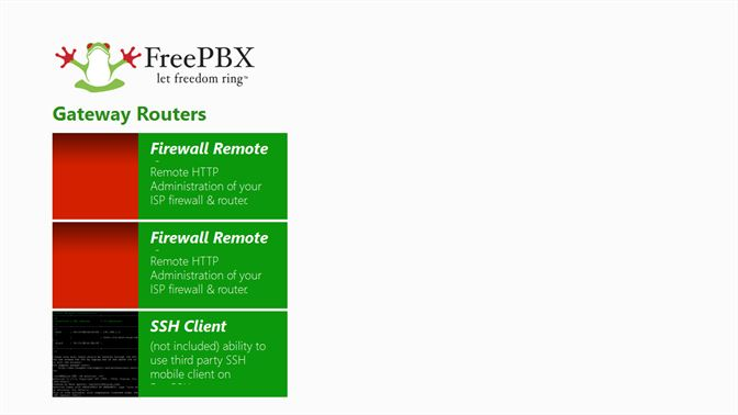 Get FreePBX Admin Sales Brochure Windows 8 1 - Microsoft Store en-GB
