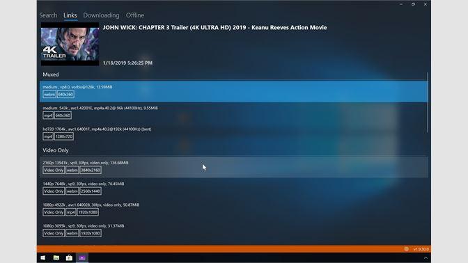 4k youtube downloader windows