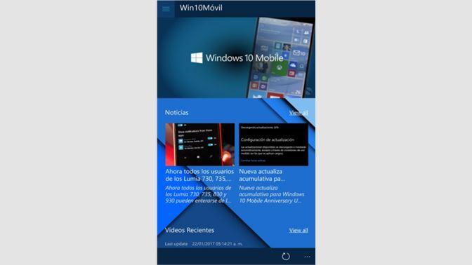 Get Win10Móvil - Microsoft Store