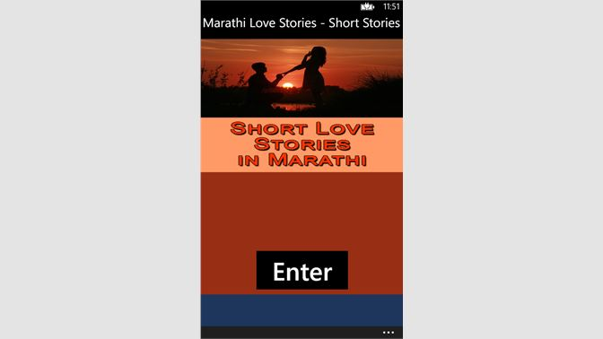 Get Marathi Love Stories - Short Stories in Marathi