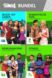 De Sims™ 4 Back to School Bundel – Beleef het Samen, Romantische Tuinaccessoires, Bowlingavond Accessoires, Fitness Accessoires