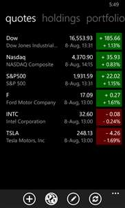 My Stocks Portfolio screenshot 4