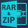 Extract Rar Zip 7zip Tar Unrar : Open & Archive All Files
