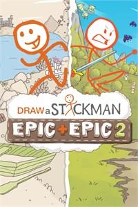 Carátula para el juego Draw a Stickman: EPIC & EPIC 2 Xbox de Xbox 360
