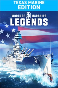 Carátula del juego World of Warships: Legends. Texas Marine
