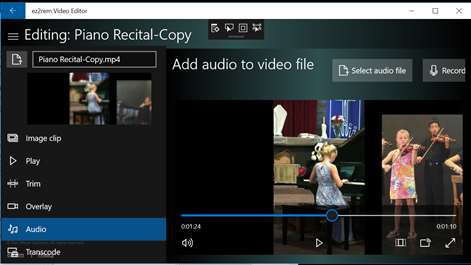 ez2rem Video Editor for Windows 10 free download on Windows 10 App Store
