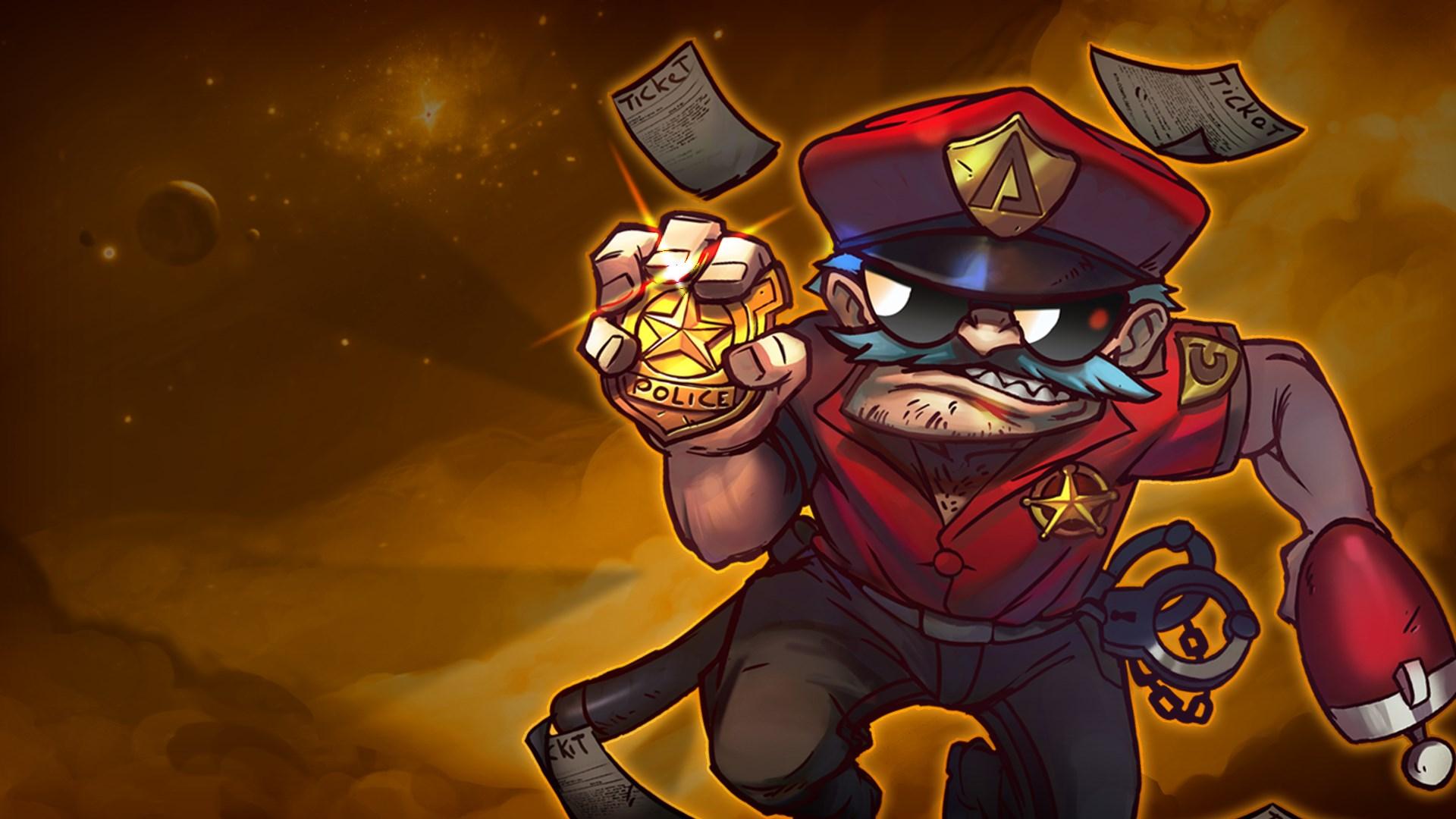 Officer Lonestar - Awesomenauts Assemble! Skin