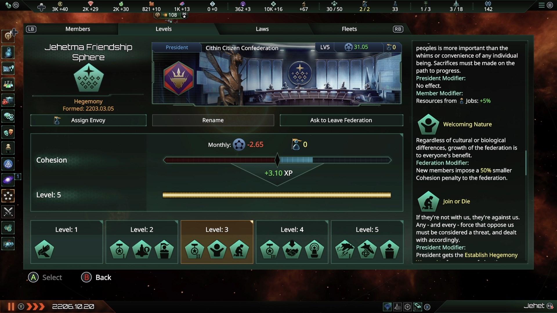 Скриншот №10 к Stellaris Federations