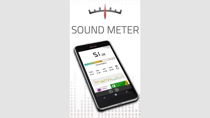 Get Decibel Meter HQ - Microsoft Store en-SG