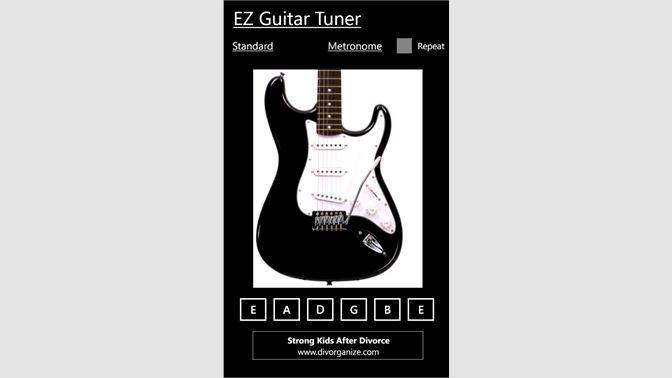 Get EZ Guitar Tuner - Microsoft Store