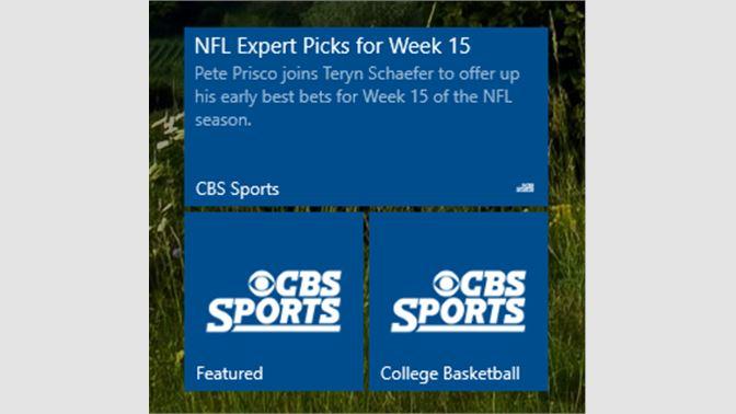 Get CBS Sports - Microsoft Store