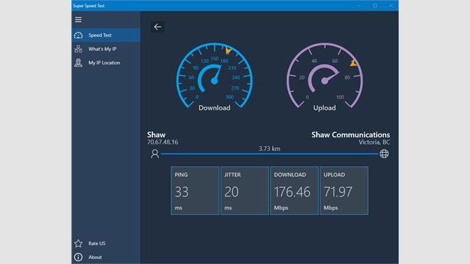 Get Super Speed Test - Test your Internet Speed for FREE, Internet Speedtest,  Wifi Speed Checker - Microsoft Store en-MK