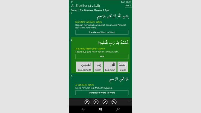 Get Al Qur An Indonesia Microsoft Store