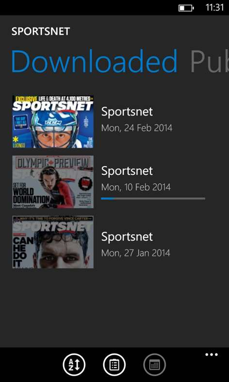 Sportsnet for Windows 10 free download on Windows 10 App Store
