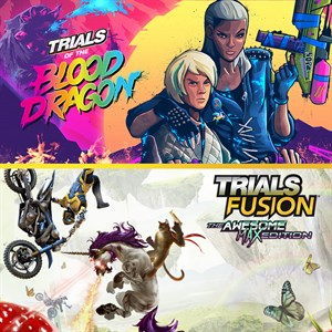 TRIALS OF THE BLOOD DRAGON + TRIALS FUSION AWESOME MAX EDITION Xbox One