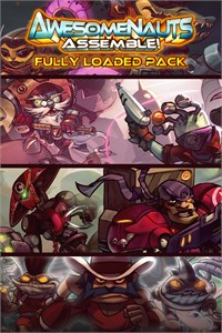 Carátula del juego Fully Loaded Pack - Awesomenauts Assemble! Game Bundle