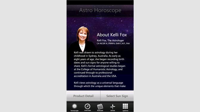 Get Astro Horoscope by Kelli Fox - Microsoft Store