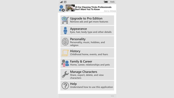 Get Character Generator - Microsoft Store